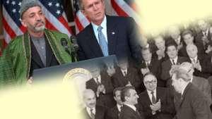 نگاه مقایسوی بر نطقهای دو حاکم پوشالی: ببرک کارمل و حامد کرزی