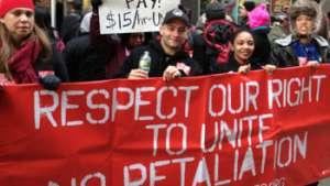 اعتراضات کارگران در امریکا نشانه فروپاشی سیستم استثمارگر