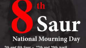 7th and 8th Saur:  Celebration for Criminals,  National Mourning Day for Our People!