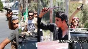 تصاویری از وحشت شورای نظاری در جادههای کابل