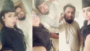 رسوایی مفتی پاکستانی با یک مدل