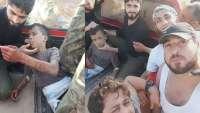 نوکران «میانهرو» امریکا در سوریه کودک ۱۲ساله را سر بریدند