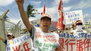 جنبش مردم اوکیناوای جاپان علیه پایگاه های امریکا اوج میگیرد