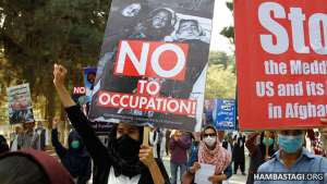 Video of SPA Protest Condemning the Occupation of Afghanistan by US Govt.