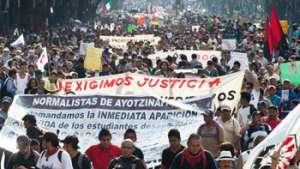 دولت مسوول کشتار ۴۳ محصل مکسیکویی