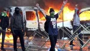 اعتراض کارگران به سیاستهای دولت بلژیک