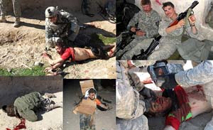 American soldier kill afghans